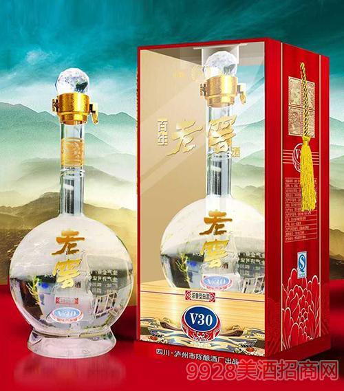 四川臻品老窖酒V30 52度500ml