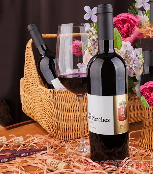 楼廊庄园珍藏葡萄酒2010 13度750ml