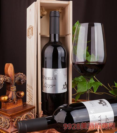 帕迪拉陈酿葡萄酒2011年13.5度750ml
