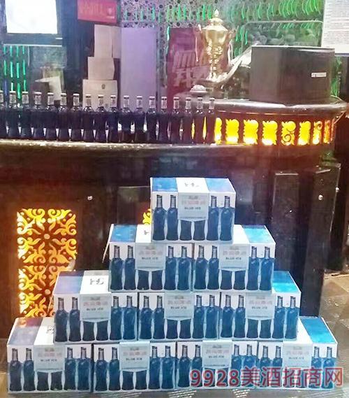 燕京啤酒新品蓝瓶箱装