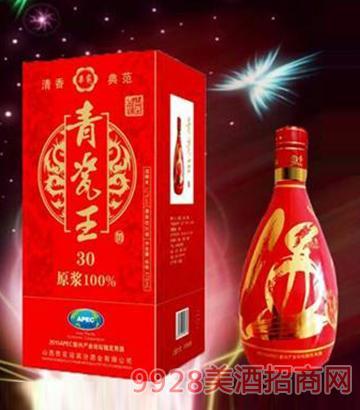 红色青瓷王酒清香型52度475ml