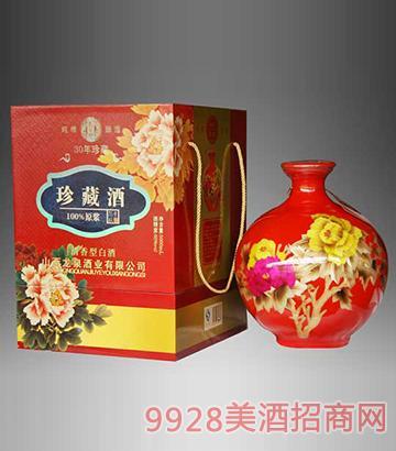 麦秆三十年珍藏原浆酒清香型60度5L