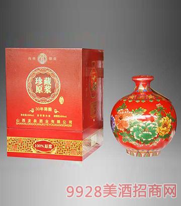 牡丹三十年珍藏原浆酒清香型60度5L