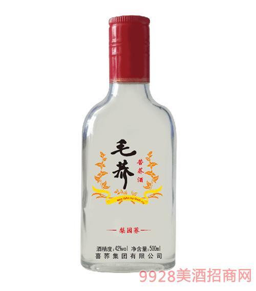 毛荞苦荞酒梨园荞42度500ml