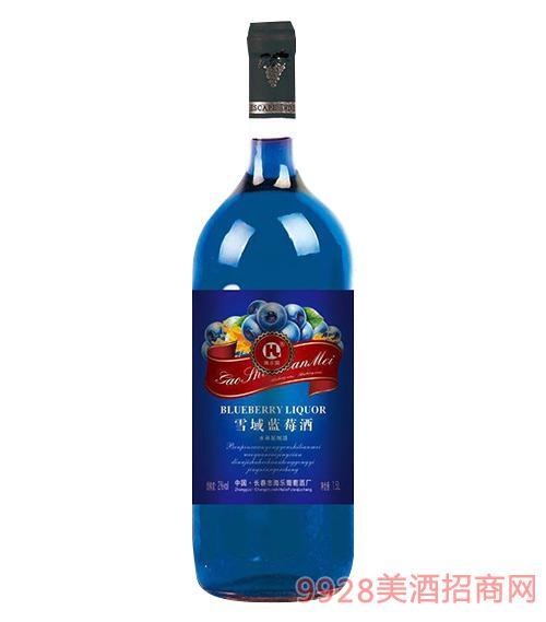 海乐雪域蓝莓酒1.5L