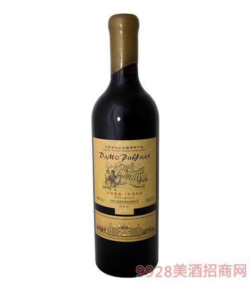 大漠葡园蛇龙珠干红葡萄酒2013