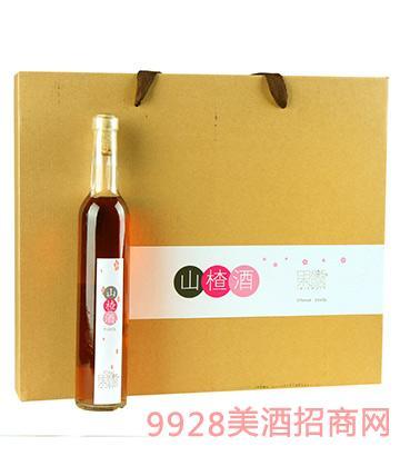 果髓山楂酒礼盒5度375ml