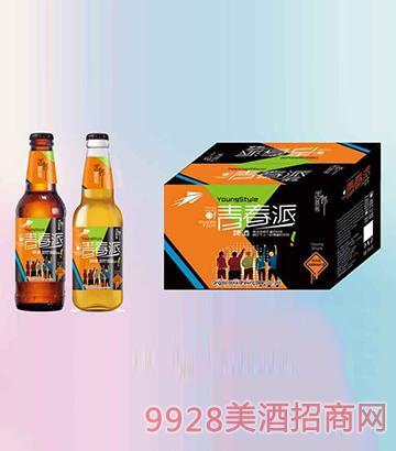 青春派啤酒330mlx24