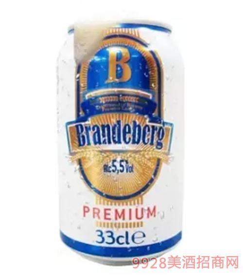 法国冰山啤酒黄啤5.5度330ml