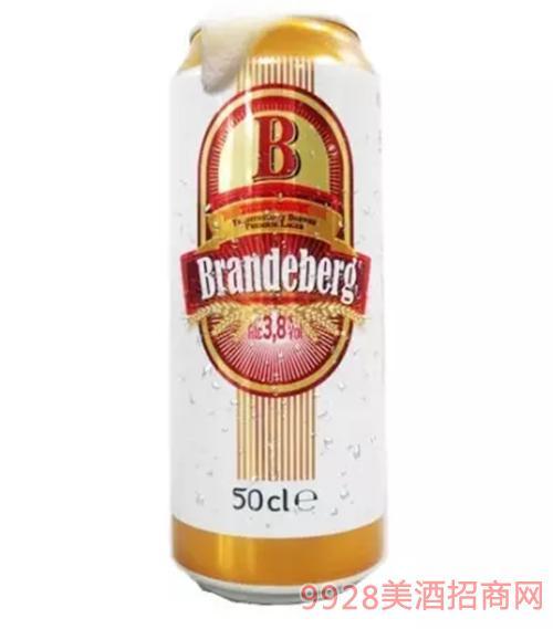 法国冰山啤酒黄啤3.8度500ml