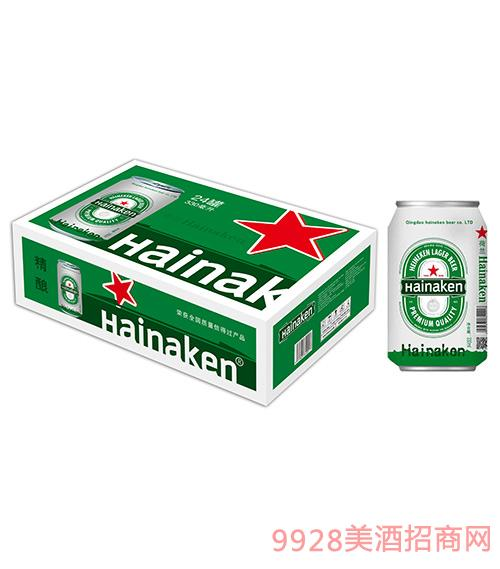 荷兰喜力啤酒精酿啤酒12°P330mlx24