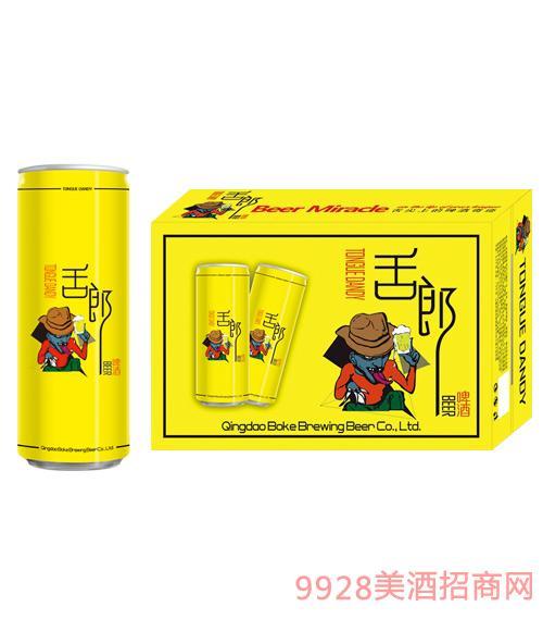 舌郎啤酒330mlx24罐