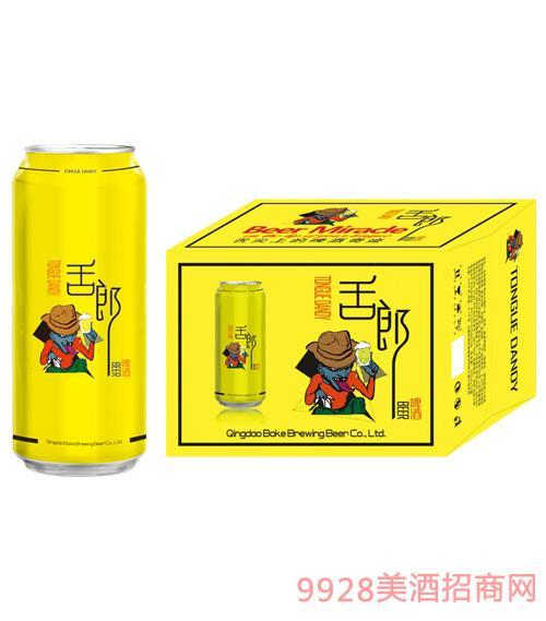 舌郎啤酒500mlx12