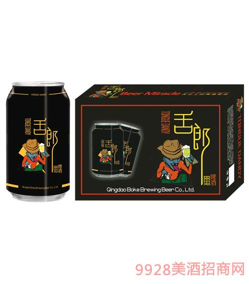 舌郎啤酒330mlx24