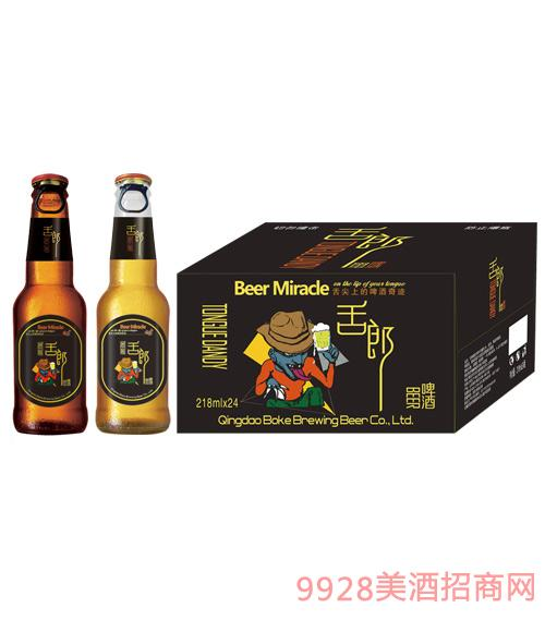 舌郎啤酒218mlx24