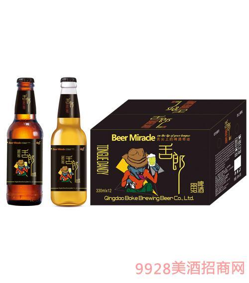 舌郎啤酒330mlx24瓶