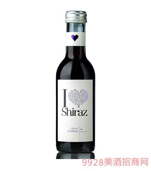 爱嗨187ml西拉起泡酒11.5度