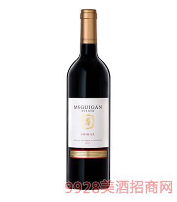 麦格根西拉子干红葡萄酒2013