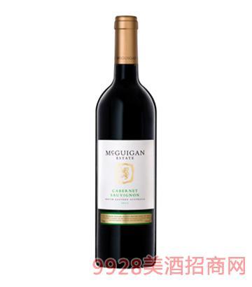 麦格根赤霞珠干红葡萄酒2013