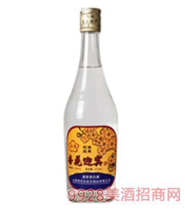 杏花迎宾光瓶酒48度500ml