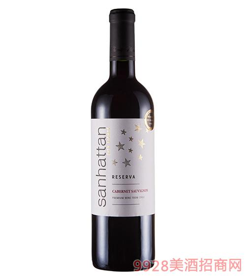 圣哈顿城市之星干红葡萄酒