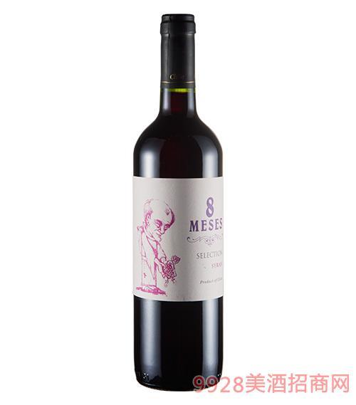 牧师西拉干红葡萄酒