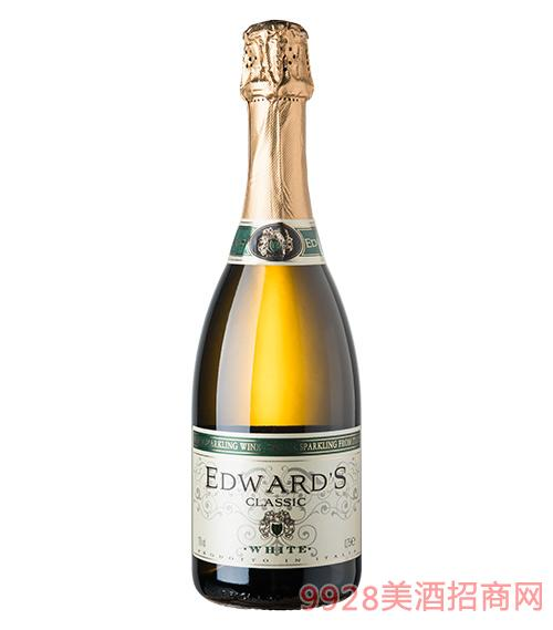 爱德华起泡白葡萄酒