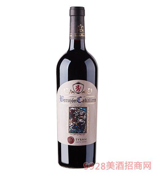 佰罗江骑士干红葡萄酒