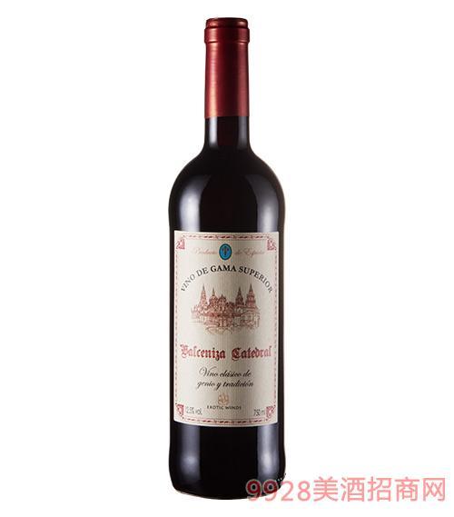 巴雷谷教堂干红葡萄酒