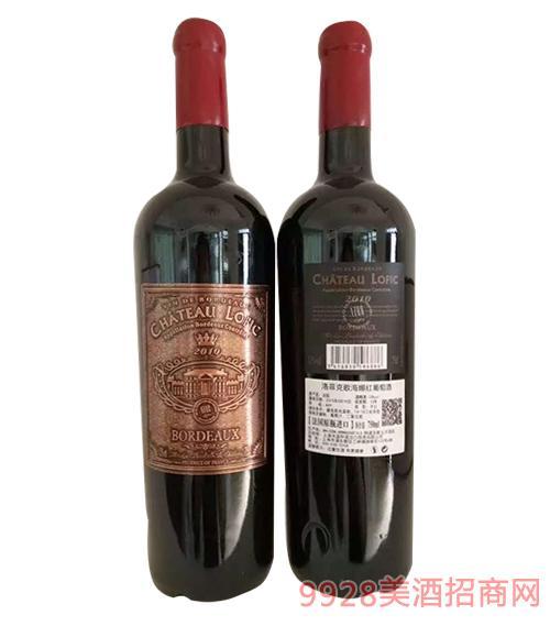 法国洛菲克歌海娜红葡萄酒750ml