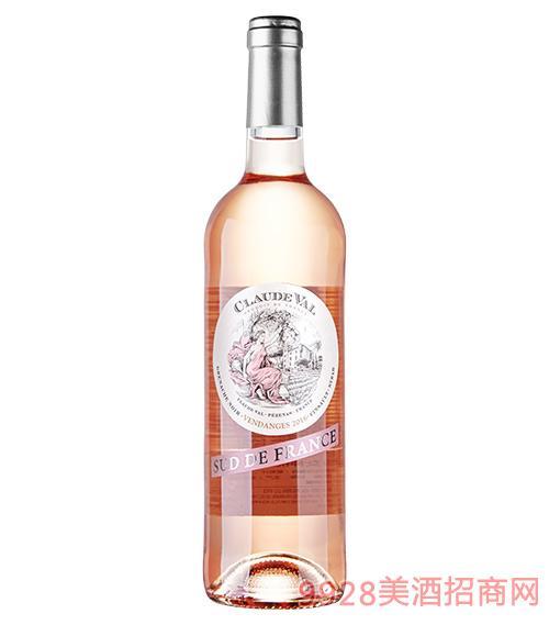花谷女神桃红葡萄酒