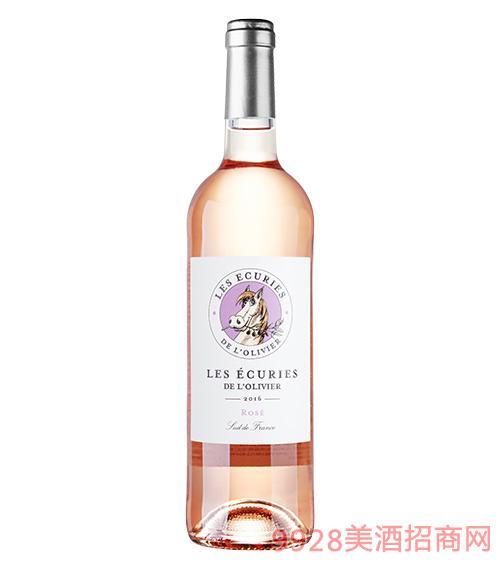 奔马桃红葡萄酒