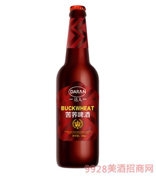 达人苦荞啤酒330ml玻璃瓶