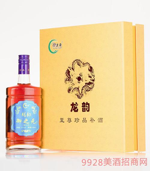 龙韵御之元小米粒养生酒礼盒36度500ml