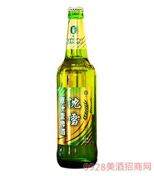 沈雪原汁麦啤酒