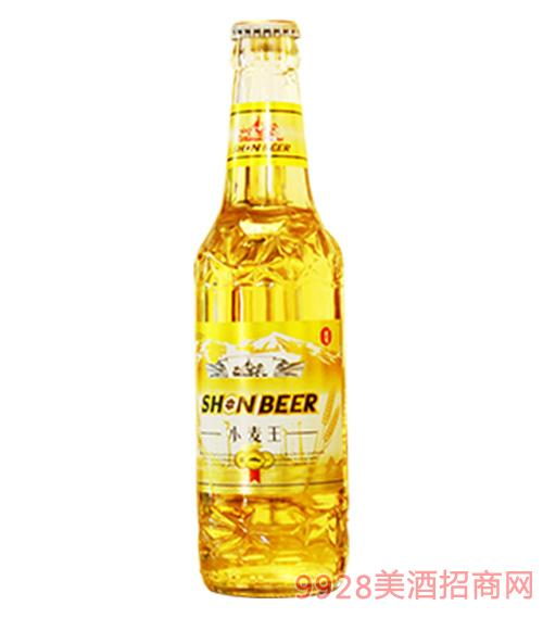 沈雪小麦王啤酒