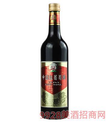 高档中国红葡萄酒12度750ml