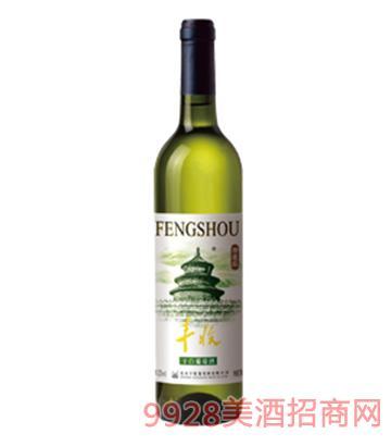 丰收精选级干白葡萄酒12度750ml