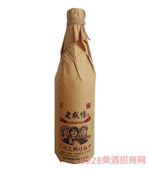 老感情草绳酒45度500mlx12