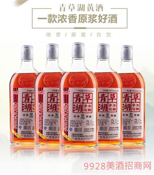 青草湖手工三年陈酿6瓶X520ml