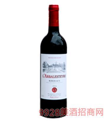 马勒骑士庄园波尔多干红葡萄酒