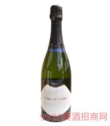 卡瓦城堡干型白葡萄起泡酒