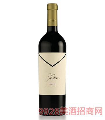 夢豪城堡歡樂馬貝克干紅葡萄酒