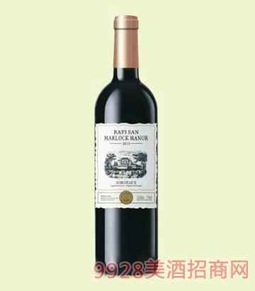 圣拉菲马洛克佳美红葡萄酒13.5度750ml