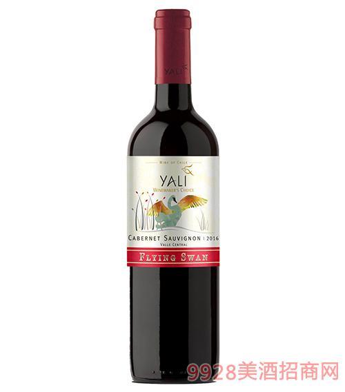 智利雅立候鸟赤霞珠干红葡萄酒12.5度750ml