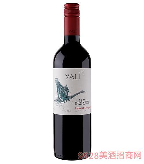 智利野天鹅赤霞珠干红葡萄酒13度750ml