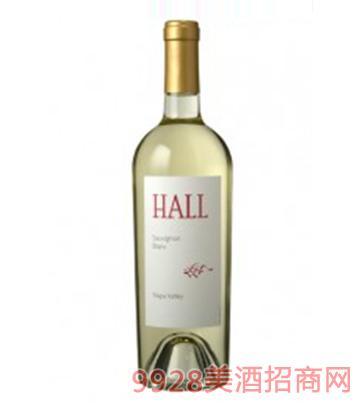 郝尔长相思白葡萄酒750ml