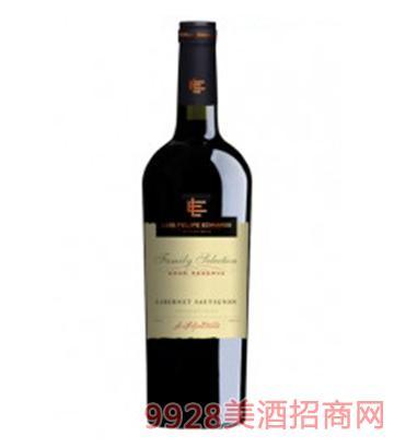 埃德华兹家族精选格兰珍藏赤霞珠红葡萄酒750ml