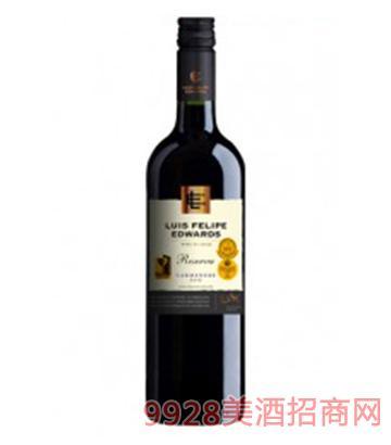 埃德华兹珍藏佳美娜红葡萄酒750ml