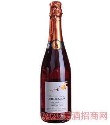 波雅纳古堡桃红葡萄酒7度750ml